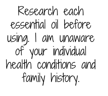 research each essential oil before using no one knows your unique family history