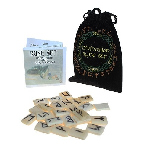 Divination Bone Rune Set