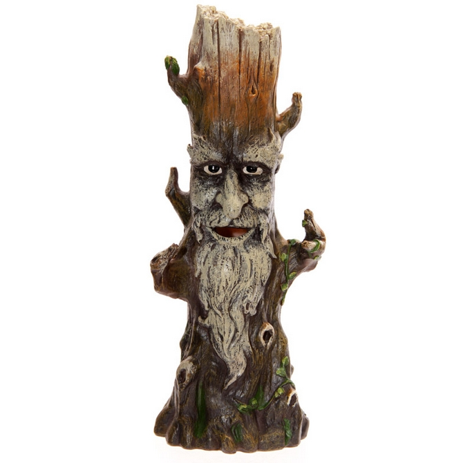 Green Tree man Stick Incense Burner