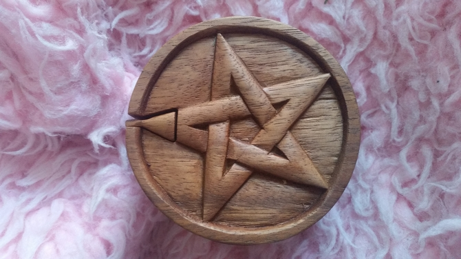 Bali Magic Puzzle Box -Pentagon / Pentagram