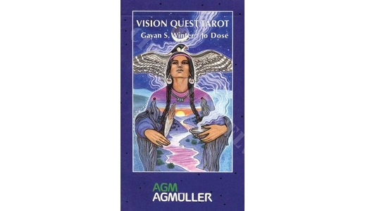 Native American Vision Quest Tarot Cards  By Gayan Sylvie Winter