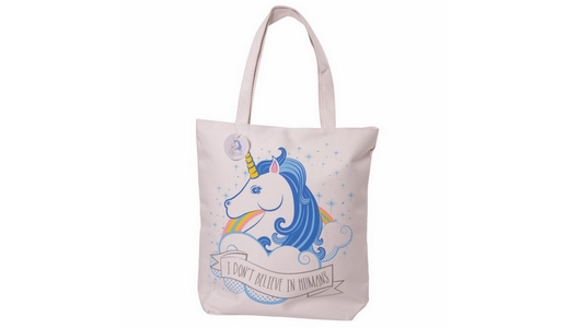 Unicorn Zip up shoulder bag  (I Don