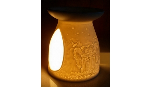 luxurious Angels & Doves Aromatherapy Essential  Oil burner