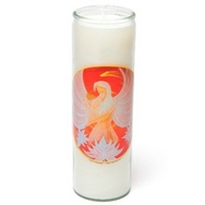 Ethnic Aromatic Candle Healing Lotus Angel Of Love Energy (100% natural candle)