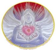 The Great Angel of Love  Karma Range Window Sticker