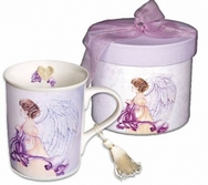 Angel of Dignity Porcelain Mug with matching gift box
