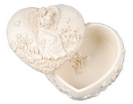 Angel Box Heaven's Love heart-shaped