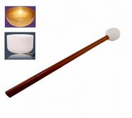 Crystal & Metal Singing Bowls rubber beater
