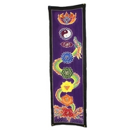 Bali Dragon/Kundalini energy chakra drop banner