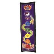 Bali Dragon/Kundalini energy chakra drop banner