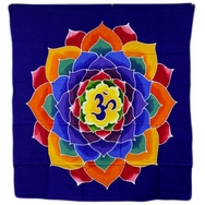 Bail OM  flower of life wall hanging