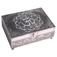 Stunning silver OM Tarot Box