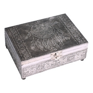 Stunning silver Dream catcher  Tarot Box