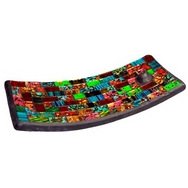 handmade mosaic stained glass  incense plates
