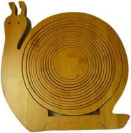 Bamboo Snail  Fruit Basket