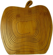 Bamboo Apple Fruit Basket