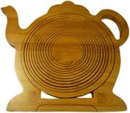 Bamboo Teapot  shaped Fruit Basket