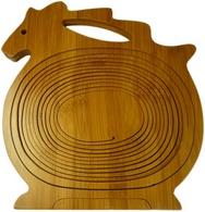 Bamboo Horse shaped Fruit Basket