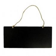 Chalk Board - Small Flat Board Strung 18x8cm