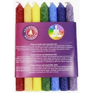 Chakra Fragrance Dinner style Candle - SET of 7 candles