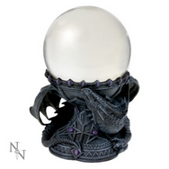 Dragon Beauty - Crystal Ball Holder designed by Anne Stokes