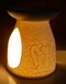 luxurious Angels & Doves aromatherapy oil burner