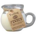 Skin Toning Blend Soybean  Hot Oil Massage Candle