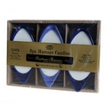 x 3 Soybean spa  Massage Candles (heightened awareness)