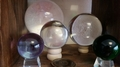 largest Glass Crystal Ball  200mm  with presentation box