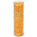 Aromatic Sacral Chakra  Candle       (100% natural candle)