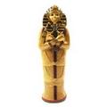 Decorative Gold Egyptian Tutankhamen Sarcophagus Trinket Box