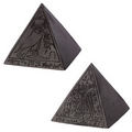 Decorative Black Egyptian Pyramid Ornament