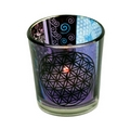 Flower of life candle tea light holder