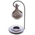 Hanging Teardrop Ceramic Oil Burner with Metal Stand