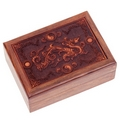 Water Dragon Engraved Box