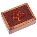 Tarot Tree of life Engraved Box