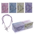 Magical Fairyland Beaded Charm Bracelet and Fairy Envelope