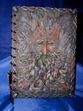 Nemesis Now Green Man tree spirits Treebeard Notebook, dream diary/ book of shadows