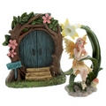 Ethereal realm Fairy - Woodland Fairy Door With Fairy