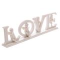White LOVE Cherub Letters