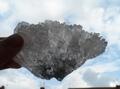 crystal angel wing    (amethyst)  one of a kind