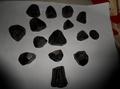 Natural Black Tourmaline Crystal Tumblestones