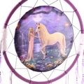 Decorative Mystical Unicorn 60cm Dreamcatcher