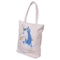 Unicorn Zip up shoulder bag  (I Don't Believe In Humans Slogan)