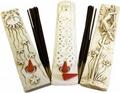 Moon / Sun & Stars  incense stick holder Vintage Style
