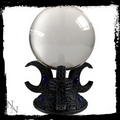 Triple Moon Crystal Ball Holder Stand