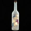 Dancing Unicorn Bottle Light LED Glass