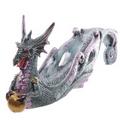 Celtic Scroll Dark Legends Dragon Incense Ashcatcher