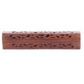Sheesham Wood Incense Burner Box  open fretwork