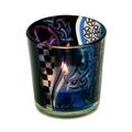 Wiccan  Pagan Pentagram  candle tea light holder